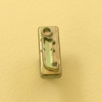 12mm Lower Case Letter j Embossing Stamp