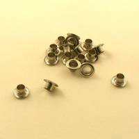 6.3mm Nickel Plated Eyelets / Grommets