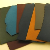 1.5-1.7mm Coloured Soft Feel Vegetable Tanned Pieces 350g