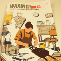 Waxing The Thread Leathercraft Magazine Issue 4