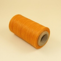 0.6mm Waxed & Braided Polyester Thread Light Tan