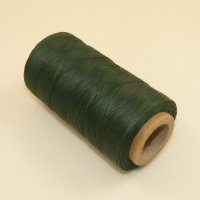 0.6mm Waxed & Braided Polyester Thread Green