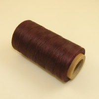 0.6mm Waxed & Braided Polyester Thread Burgundy