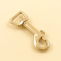 16mm Lightweight Nickel Plated Trigger Clip Square Eye