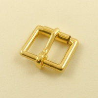 TO CLEAR 25mm 1''  CHUNKY Cast Brass Roller Buckle