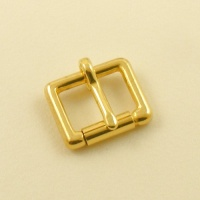 TO CLEAR 19mm 3/4''  CHUNKY Cast Brass Roller Buckle