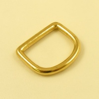 32mm  1 1/4'' Cast Brass D Ring