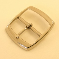 38mm Lightweight Whole Belt Buckle Nickel Plate