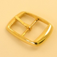 25mm Lightweight Whole Belt Buckle Brass Plate