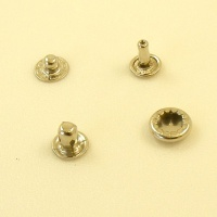 10mm Nickel Plated Press Studs