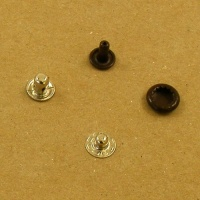 10mm Brown Press Studs