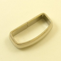 Curved Belt Loop Nickel Plated 32mm