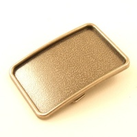 Recessed Belt Buckle Blank Antiqued Nickel Finish 1 1/2 inch 38mm