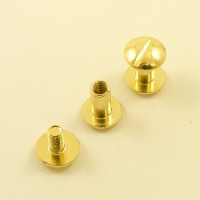 SALE Ivan Chunky 9.5mm Joining Screws - Brass Plated