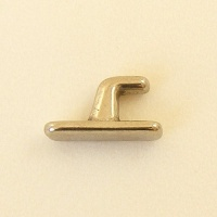 Hook Stud Medium Nickel Plated