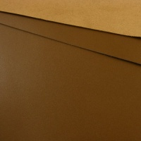 1.2 - 1.4mm Mid Brown Calf Leather 30 x 60cm