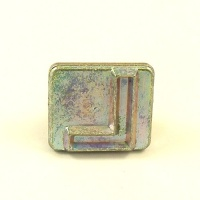 20mm Block Letter L Embossing Stamp