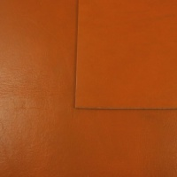 2 - 2.5mm SECONDS Mid Tan Vegetable Tanned Leather A4