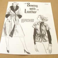 Sewing With Leather Booklet