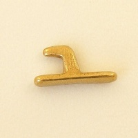 Hook Stud Small Brass