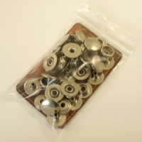 13mm Nickel Plated Press Studs