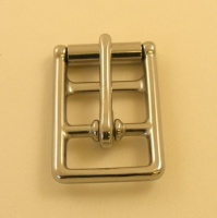Looped Barred Girth Buckle Stainless Steel