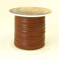 2.3mm Tan Tandy Superior Calf Lace 46 Metre Reel