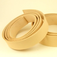 25mm 1'' Undyed Veg Tan Strip SECONDS
