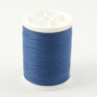 Blue Linen Sewing Thread Gruschwitz Blau 145