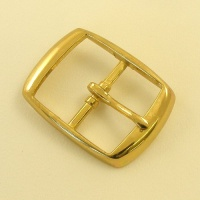 38mm Lightweight Whole Belt Buckle Brass Plate