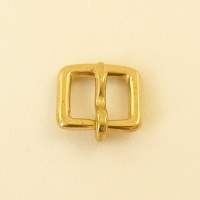 12mm Solid Brass  Bridle Buckle