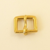 16mm Solid Brass  Bridle Buckle