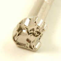 E671 Leather Embossing Stamp Cat