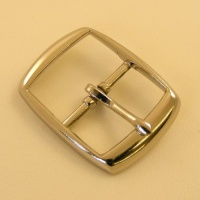 25mm Lightweight Whole Belt Buckle Nickel Plate