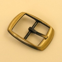 25mm Lightweight Whole Belt Buckle Antiqued Finish
