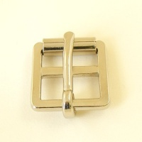 Nickel Plated Girth Buckle