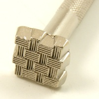 K146 Embossing Stamp Basket weave