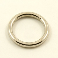 O Ring Nickel Plated Steel 25mm  1 inch