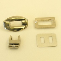 Nickel Plated Turn Lock Clasp