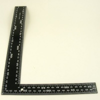 Right Angle / Square Ruler 30 x 20cm
