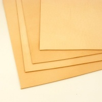 2.7-3mm SECONDS Undyed Veg Tan Leather A4
