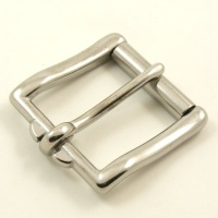 Stainless Steel Roller Belt Buckle 38mm (1 1/2'')