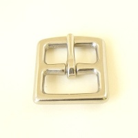 Stirrup Leather Buckle 25mm (1 inch) Stainless Steel