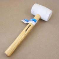 Soft White 16oz Rubber Headed Mallet