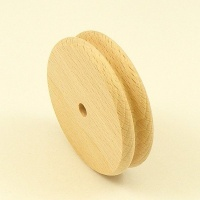 REDUCED Wooden Edge Burnishing Wheel