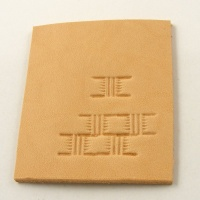 X534 Embossing Stamp Basket Weave Section