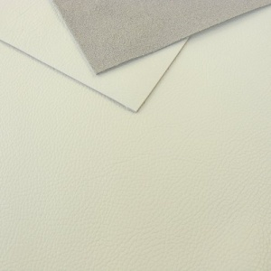 1mm Textured White Leather A4